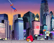 Spiderman save Angry Birds Szuperh�s�s j�t�kok ingyen