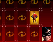 The Incredibles Mega Memory online játék
